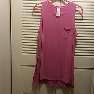 Pretty Pink Long Tunic